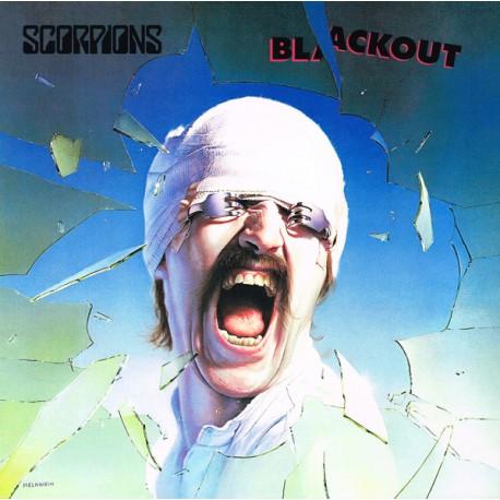 SCORPIONS : LP+CD Blackout