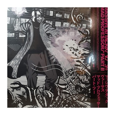 MASSIVE ATTACK : LP Massive Attack V Mad Professor Part II (Mezzanine Remix Tapes '98)