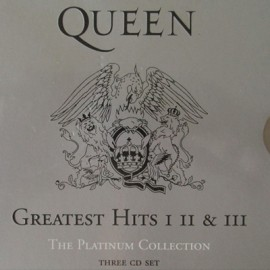 QUEEN : CDx3 Greatest Hits I II & III (The Platinum Collection)