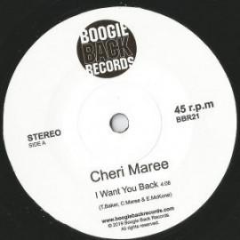 CHERI MAREE : I Want You Back
