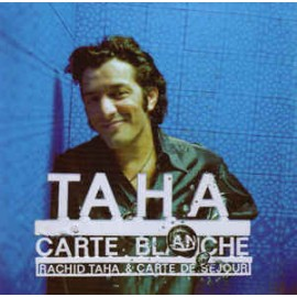 2nd HAND / OCCAS : TAHA Rachid : CDx2 Carte Blanche