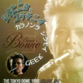 BOWIE David : LP The Tokyo Dome 1990 Volume One