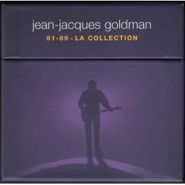 GOLDMAN Jean-Jacques : CDx6+DVD 81-89  La Collection