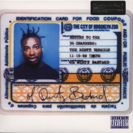 OL' DIRTY BASTARD : LPx2 Return To The 36 Chambers : The Dirty Version (Bonus Tracks)