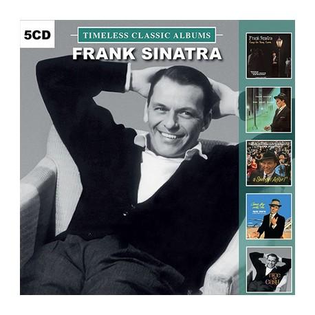 FRANK SINATRA : CDx5 Timeless Classic Albums