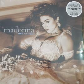 MADONNA : LP Like A Virgin (clear)