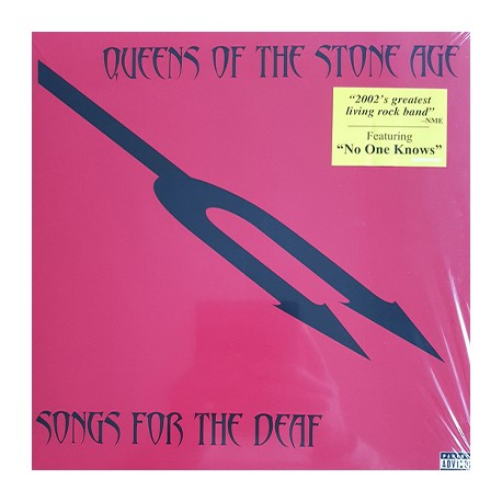 QUEENS OF THE STONE AGE : LPx2 Songs For The Deaf