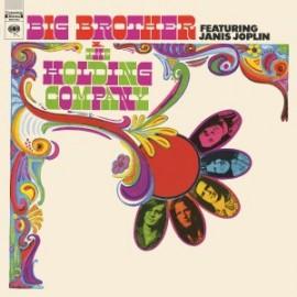 JANIS JOPLIN & BIG BROTHER & THE HOLDING COMPANY : LP Big Brother & The Holding Company Featuring Janis Joplin