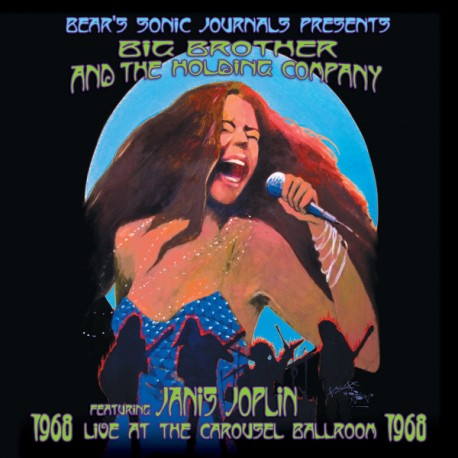 JANIS JOPLIN & BIG BROTHER & THE HOLDING COMPANY : LPx2 Live At The Carousel Ballroom 1968