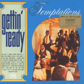 TEMPTATIONS (the) : LP Gettin' Ready