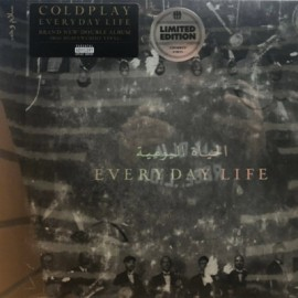 COLDPLAY : LPx2 Everyday Life (gold)