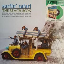 """BEACH BOYS (the) : LP+7""""EP Surfin' Safari"""