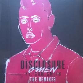 "DISCLOSURE / SMITH Sam : 12""EP Omen (The Remixes)"