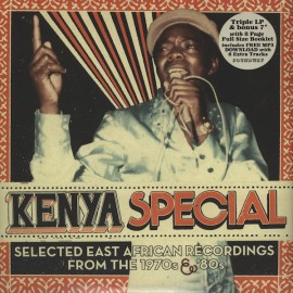"VARIOUS : LPx3+7""EP Kenya Special (Selected East African Recordings From The 1970s & '80s)"
