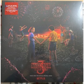 "DIXON Kyle & STEIN Michael : LPx2+7""EP Stranger Things 3 Music From The Netflix Original Series"
