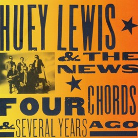2nd HAND / OCCAS : HUEY LEWIS & THE NEWS : CD Four Chords & Several Years Ago