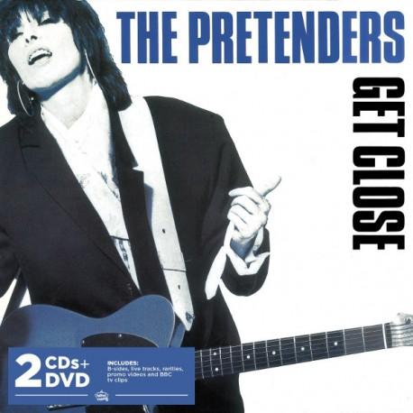 PRETENDERS (the) : CDx2+DVD Get Close