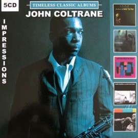 COLTRANE John : CDx5 Timeless Classic Albums Impressions