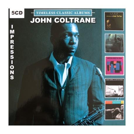 COLTRANE John : CDx5 Timeless Classic Albums Impressions