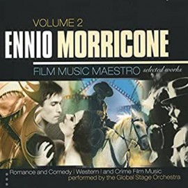 MORRICONE Ennio : CDx3 Film Music Maestro - Romance And Comedy, Western and Crime Film Music, Vol. 2