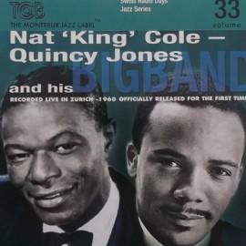 NAT KING COLE / JONES Quincy : CD Kongresshaus, Zurich 1960