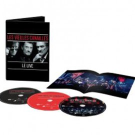VEILLES  CANAILLES (les) : CDx2+DVD L'album Live