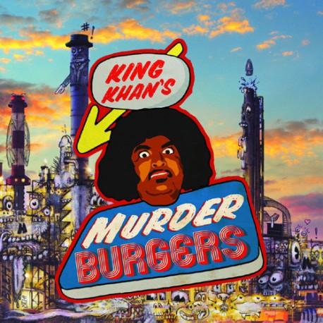 KING KHAN EXPERIENCE (the) : LP King Khan's Murder Burgers