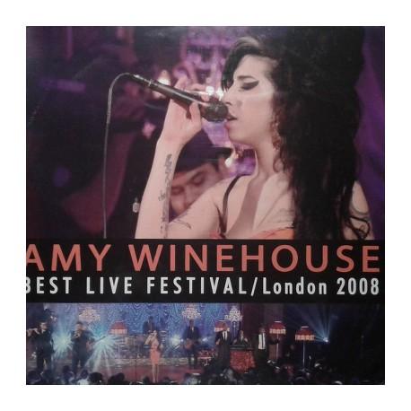 WINEHOUSE Amy : LP Best Live Festival / London 2008