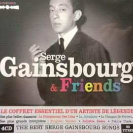 GAINSBOURG Serge : CDx4 Serge Gainsbourg & Friends