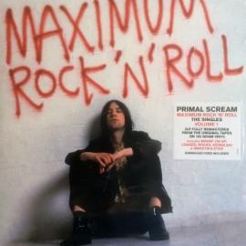 PRIMAL SCREAM : LPx2 Maximum Rock 'N' Roll The Singles Volume 1