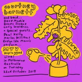 COURTNEY BARNETT : LP MTV Unplugged (Live In Melbourne - Blue)