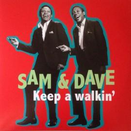SAM & DAVE : LP Keep a Walkin'