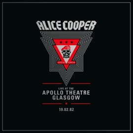 ALICE COOPER : LPx2 Live from the Apollo Theatre Glasgow Feb 19.1982