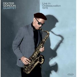 DEXTER GORDON : LP Dexter Gordon Quartet / Live in Châteauvallon