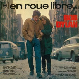 DYLAN Bob : LP The Freewheelin' Bob Dylan – En Roue Libre