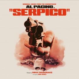 THEODORAKIS Mikis : LP Serpico