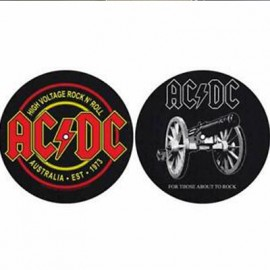 TURNTABLE BELT - FEUTRINE : AC/DC : For Those About To Rock / High Voltage