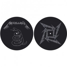 TURNTABLE BELT - FEUTRINE : METALLICA : The Black Album