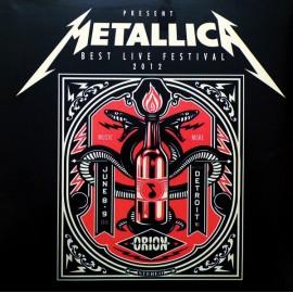 METALLICA : LP Best Live Festival 2012