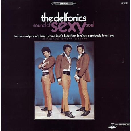 DELFONICS (the) : LP Sound Of Sexy Soul