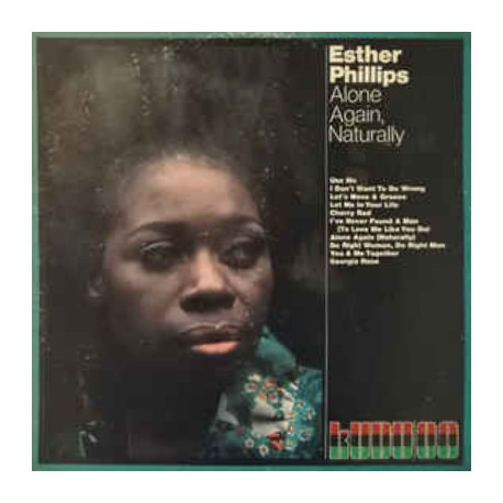 PHILLIPS Esther : LP Alone Again, Naturally