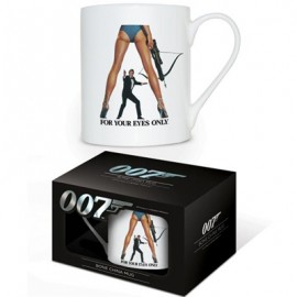 JAMES BOND MUG : For Your Eyes Only