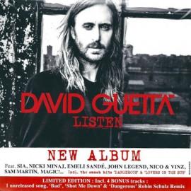 DAVID GUETTA : CDx2 Listen