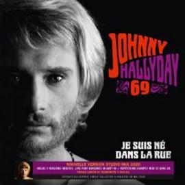 """HALLYDAY Johnny : 10""""EP Je Suis Ne Dans la Rue"""