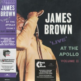 JAMES BROWN : LPx3 Live At The Apollo - Volume II