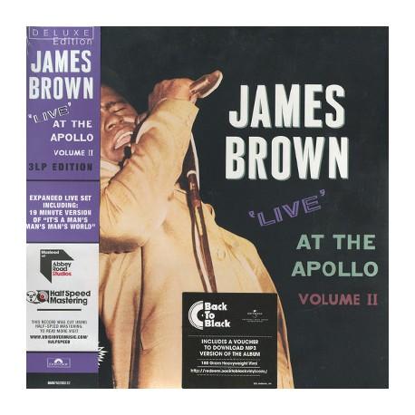 JAMES BROWN : LPx3 Live At The Apollo - Volume II