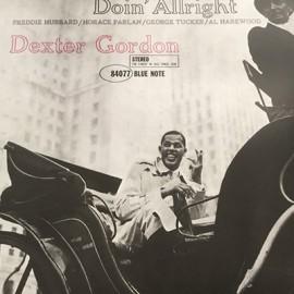 DEXTER GORDON : LP Doin' Allright