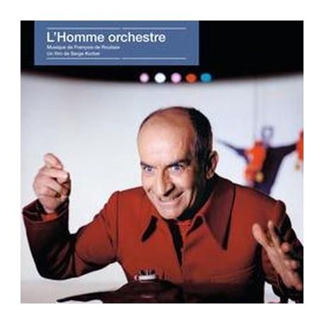 DE ROUBAIX François : LP L'Homme Orchestre