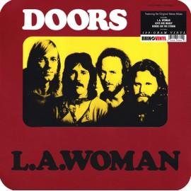DOORS (the) : LP L.A. Woman (rear sleeve)