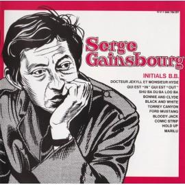 GAINSBOURG Serge : CD Initials B.B.